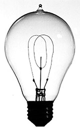an introduction to thomas edisons invention of the lightbulb Thomas edison thomas edison was born on february 11, 184-7 and died on october 18, 1931 he was the last of seven children, and was largely home-schooled and self-educated he married twice and had six children he worked first as a telegrapher before becoming an inventor and entrepreneur.